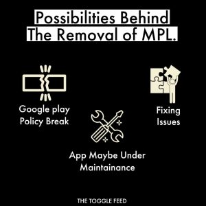 why mpl is removed from playstore