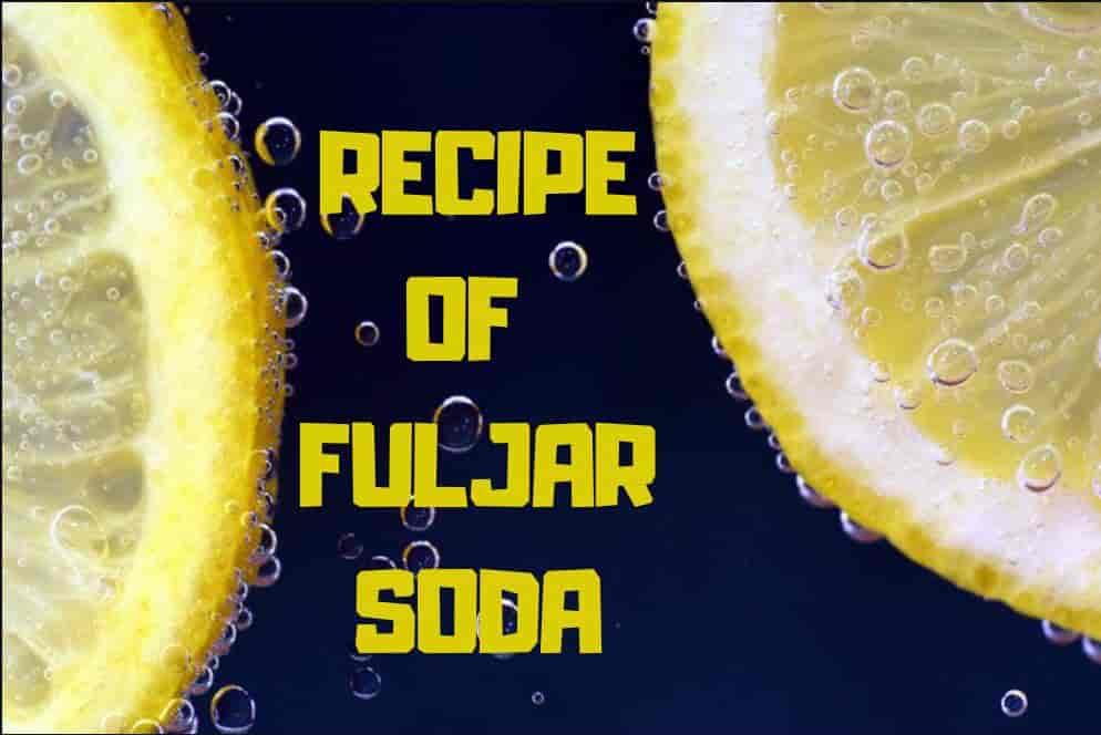 Recipe For Fuljar Drink