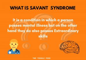 what is savant syndrome