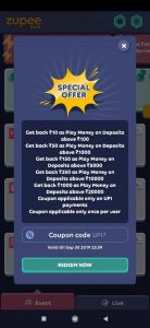 zupee gold coupon 1