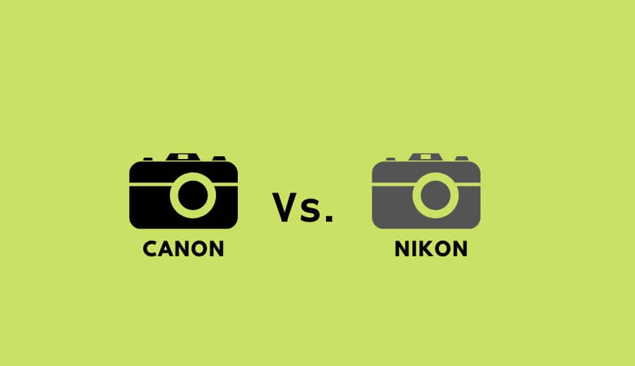 Nikon D3400 vs Canon T6 | Best Features Of Nikon D3400 & Canon T6