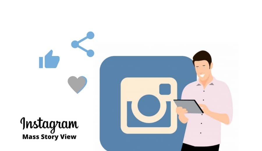 Is Mass Story Viewing Safe | Save Your Instagram Account.