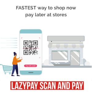 lazypay Scan And Pay