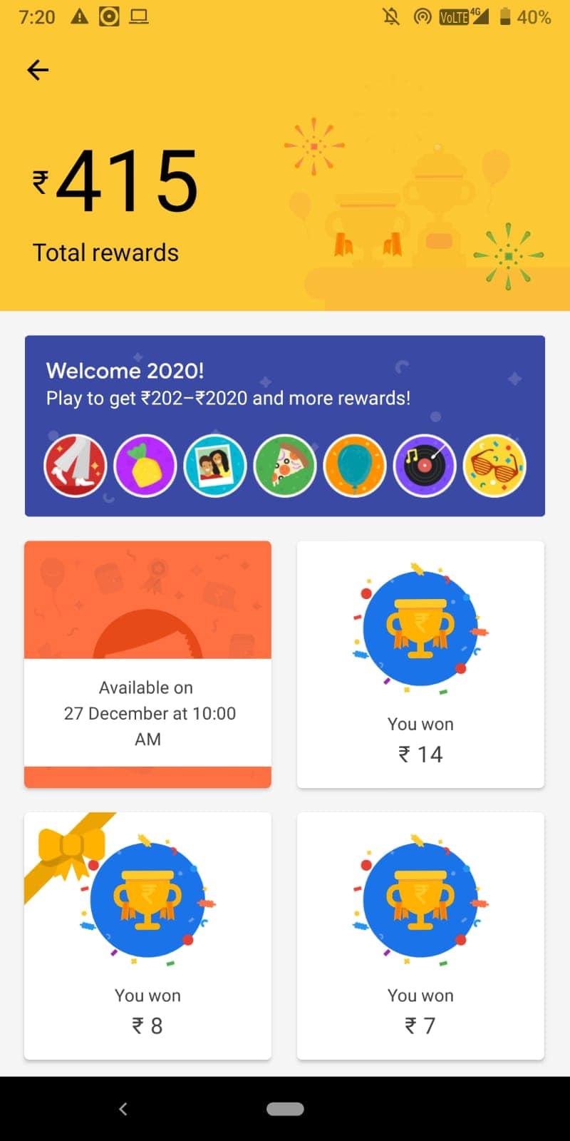 google 2020 caker offer
