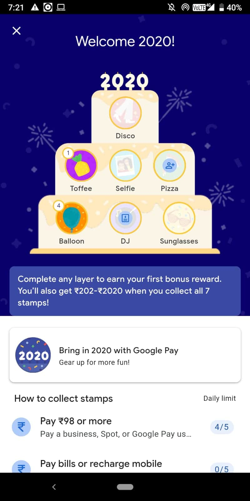 google latest offer