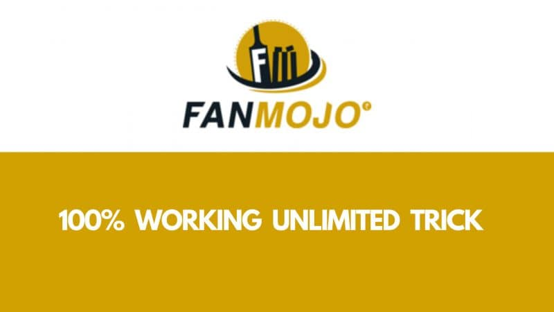 Fanmojo Loot 100% WORKING UNLIMITED TRICK