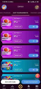 bonus games in winzo app