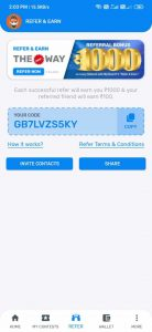 Refer And Earn Works In Team 11 Fantasy App