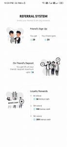 refer and earn in my11beast app
