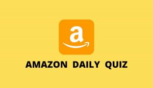 Amazon Quiz Today [Answers] Of Win Smartphone Gadget Tablet Earphone Phone Mobile